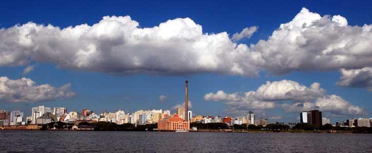 Vista panorámica de Porto Alegre, Alfonso Abraham