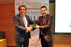 Pullmantur galardonado con el premio a la mejor compañía nacional de cruceros