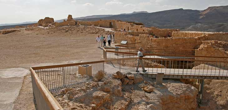 La fortaleza de Massada es uno de los lugares de indispensable visita en Israel