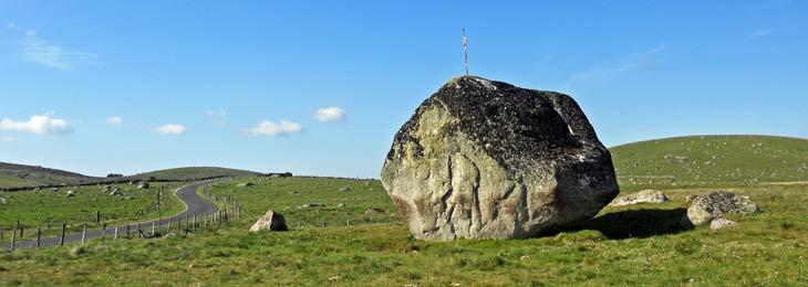 Menhir en El Aubrac