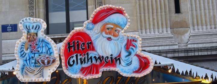 El glühwein es la bebida típica durantes las Navidades. © Mauro Barbazza