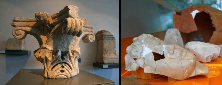 Restos arqueológicos de la antigua Narona