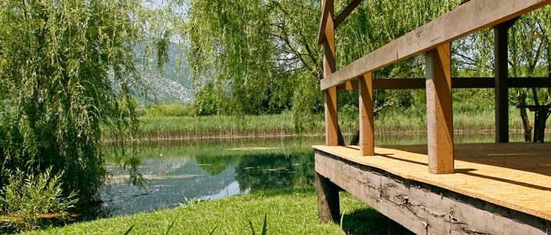 El río Neretva esconde lugares muy tranquilos y en los que merece la pena descansar