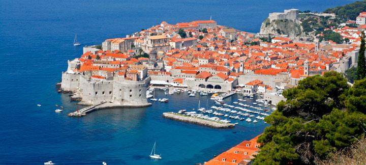 Vista panorámica de Dubrovnik