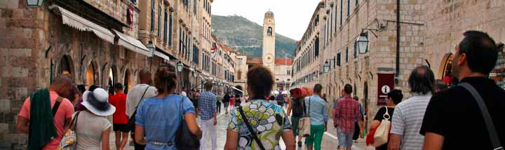 Stradun, calle principal de Dubrovnik