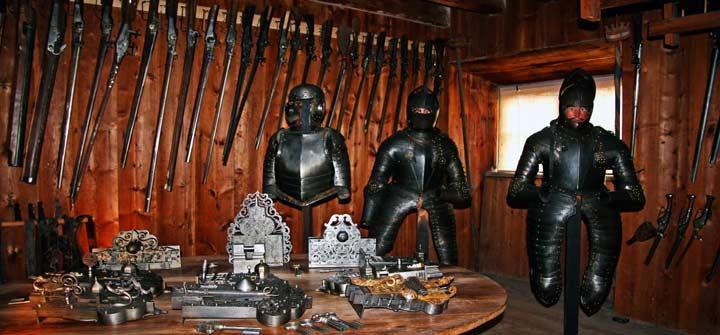Colección privada de armas del castillo de Skokloster