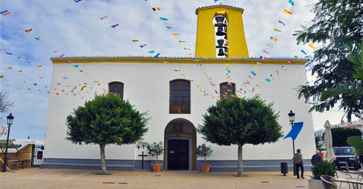 Iglesia de Santa Gestrudis en Santa Eulalia © Sonia Zaghbani