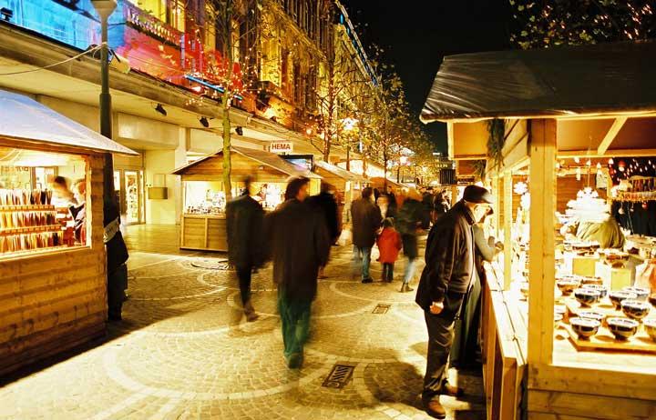 Mercado de Navidad de Lieja. © OPT/Jeanmart