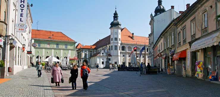Plaza Mayor de Maribor