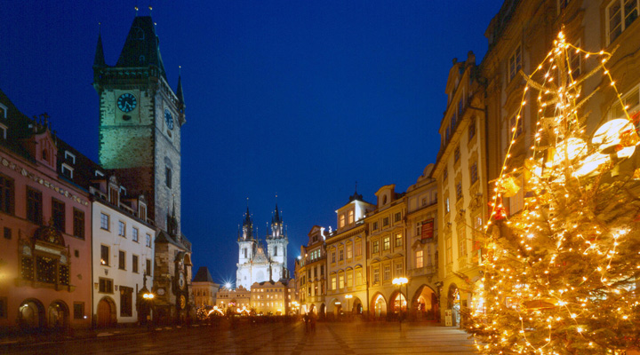 Mercadillo de Navidad en Praga © CzechTourism.com