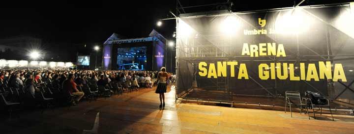 Arena Santa Giuliana es uno de los escenarios donde se celebra el Umbria Jazz (© Umbria Jazz)