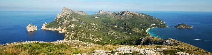 Península de Formentor/Patronato Municipal Turismo de Pollença