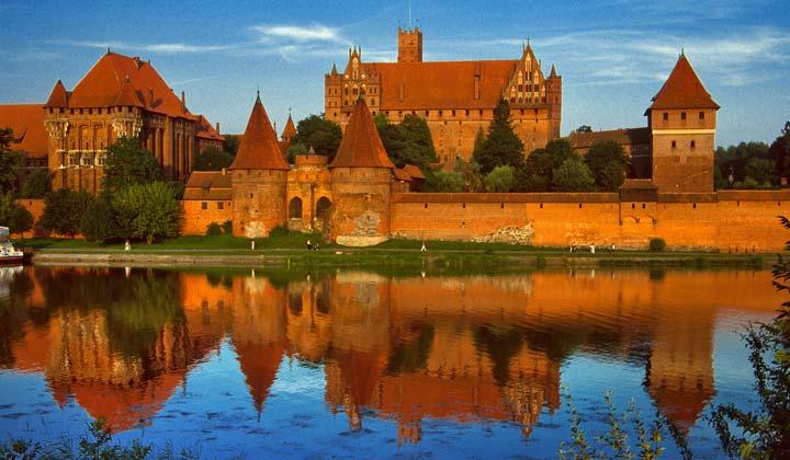 Malbork/Foto Oficina Nacional de Turismo de Polonia
