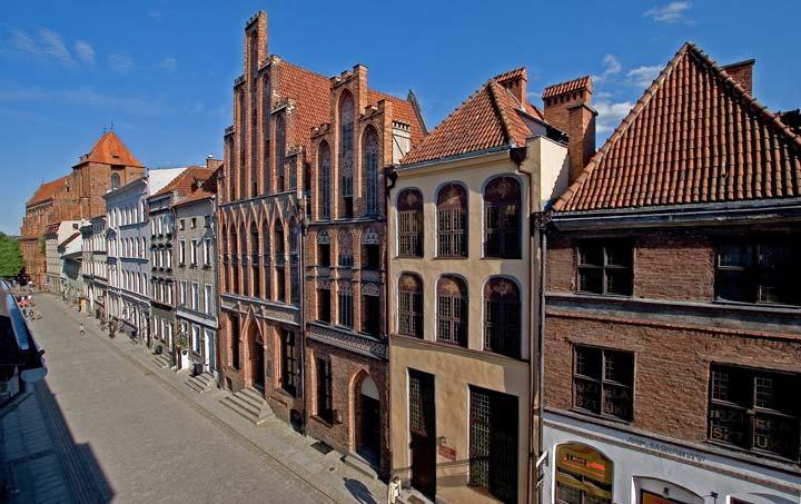 Casa natal de Copérnico en Torun/Foto Oficina Nacional de Turismo de Polonia