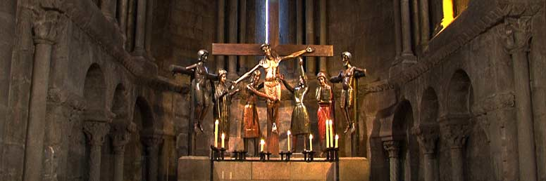 El Santísimo Misterio, bella talla del siglo XIII
