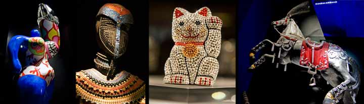 El museo Mundos de Cristal Swarovski es uno de los más visitados de Austria