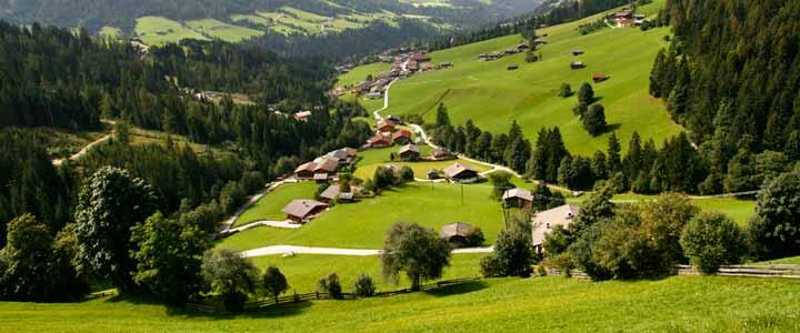 La región tirolesa de Alpbachtal es un destino ideal para pasar unas vacaciones en cualquier estación del año