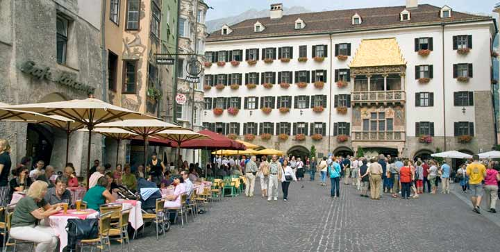 Tejadillo de Oro, uno de los puntos turísticos más importantes de Innsbruck