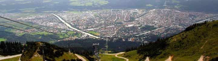 Innsbruck puede presumir de haber acogido dos veces los JJOO de invierno (en 1964 y 1976)