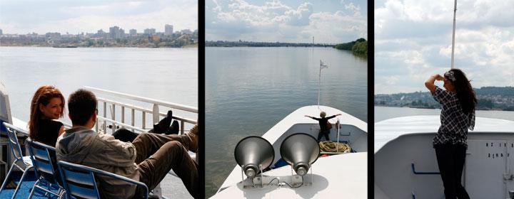 Un paseo por los ríos Sava y Belgrado es una actividad realmente<br />recomendable.