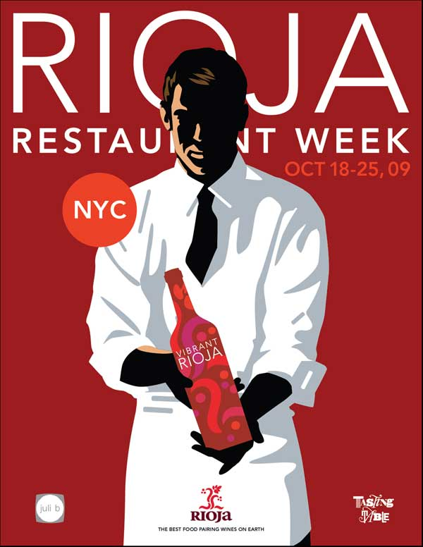 """Rioja """"reserva"""" tu mesa en Nueva York o Chicago"""