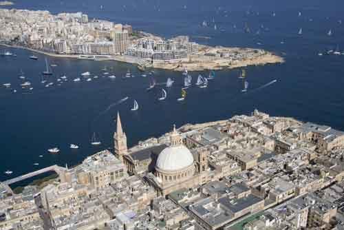 Turismo Malta: comienza la cuenta atrás para Rolex Middlesea Race
