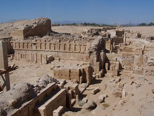 Los vestigios del reino de Saba