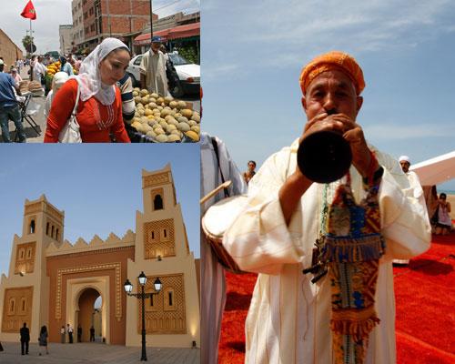 Localidad de Oujda, Marruecos