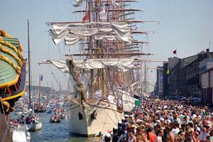 SAIL 2010, el gran acontencimiento del verano en Ámsterdam