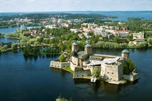 Castillo de Olavinlinna. ©Festival de Ópera de Savonlinna