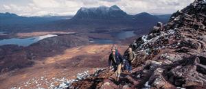 Senderismo en Escocia
