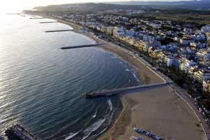 La playa de Sitges, entre las mejores de España según TripAdvisor