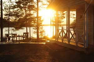 Sol de medianoche en Finlandia. Foto: Visit Finland
