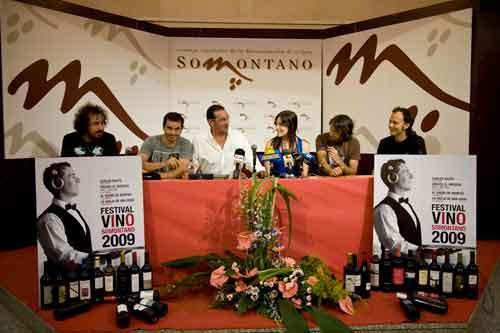 Éxito de asistencia de público en el Festival vino Somontano 2009