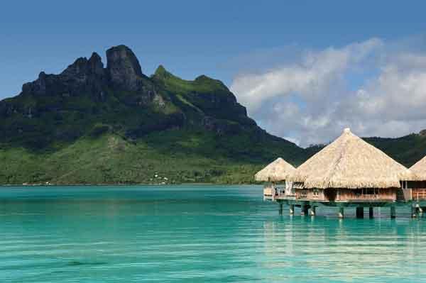 Una Navidad de ensueño en el St. Regis Bora Bora