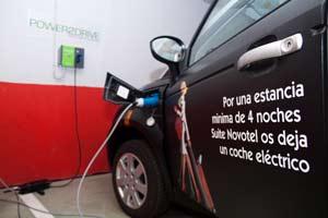 Suite Novotel de Málaga estrena puntos para vehículos eléctricos
