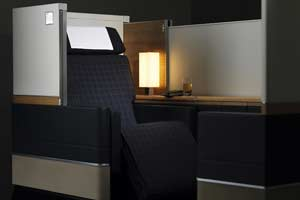 Swiss gana el premio Global Traveler al mejor asiento de first class