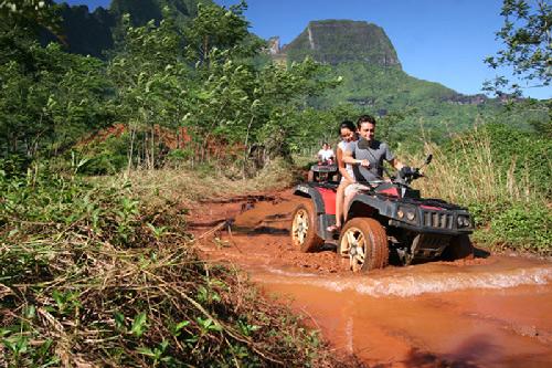 Quads en Tahití / Tahiti Tourisme ©G. Le Bacon