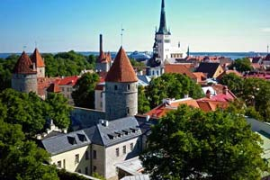 Tallinn, capital de Estonia