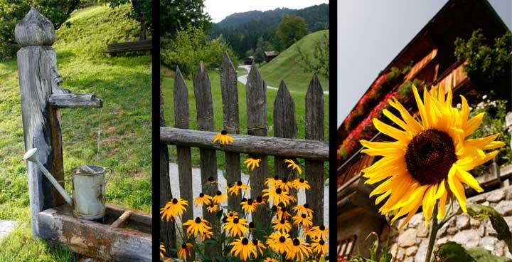 En el Tirol se pueden encontrar bellas instantáneas como éstas