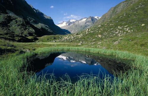 Los paisajes del Tirol son idílicos
