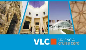 Turismo Valencia lanza la VLC Cruise Card para los cruceristas que visiten la capital del Turia