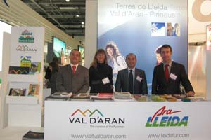 El Valle de Arán presente en la World Travel Market de Londres 2010