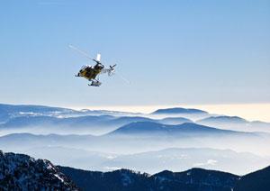 Turismo de aventura: sobrevolar Vallnord (Andorra) en helicóptero