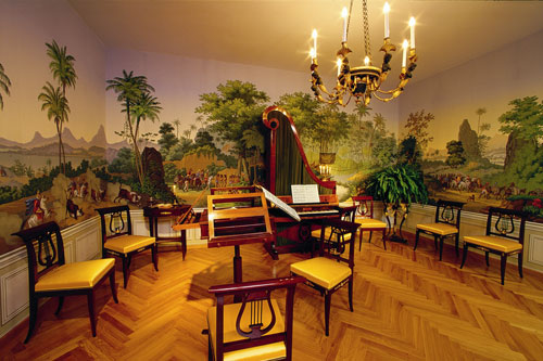 Sala de música en Schönbrunn