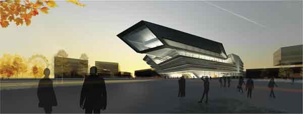 © LLC - Heiland / Zaha Hadid Architects