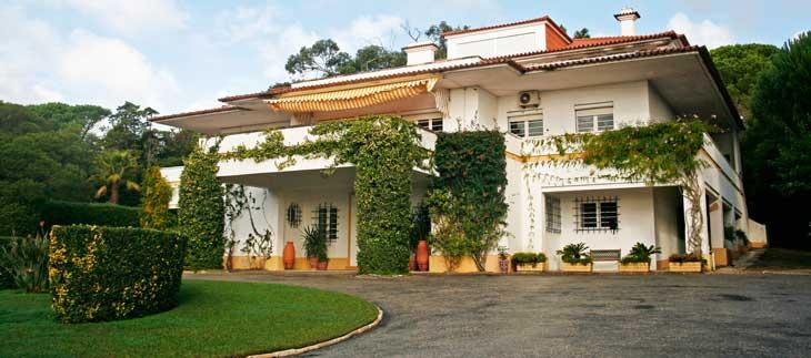 Villa Giralda, residencia de la Familia Real Española en el exilio/Foto María Jesús Tomé