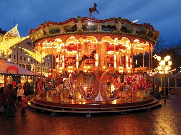 Turismo en Alemania: magia navideña en Wiesbaden
