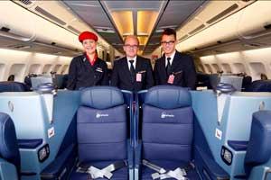 Airberlin vuela ya con la nueva clase Business
