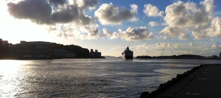 Anochecer en Stavanger/Foto María Jesús Tomé